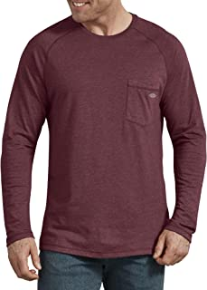 dickies Men's Temp-iq Performance Cooling Long Sleeve T-Shirt Big-Tall