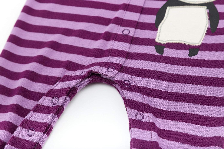 80 Violett Sigikid Baby-M/ädchen Strampler Overall Dark Purple 218
