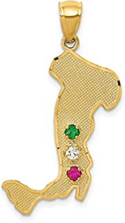 Best gold italian boot charm Reviews