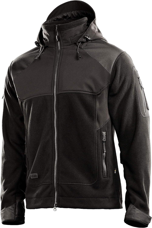 M-Tac Fleece Windblock Jacket Japan's largest assortment Outdoor Shell Hooded Time sale Soft Warm