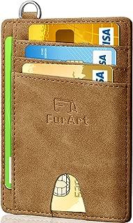 Slim Minimalist Wallet, Front Pocket Wallets, RFID...
