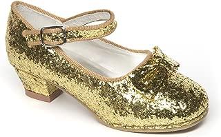 Belle Gold Glitter Shoes