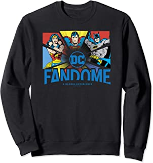DC Fandome Logo Core Split Sweatshirt