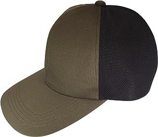 [ろしなんて工房] 帽子 吸汗速乾 深いメッシュキャップ SP445 ドットクール519 大きいサイズOK [日本製]