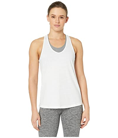 manduka Breeze Racerback Tank Top (White) Women