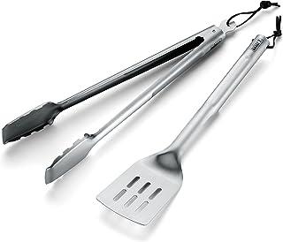 Weber Basics 2-Piece Stainless Steel Tool Set