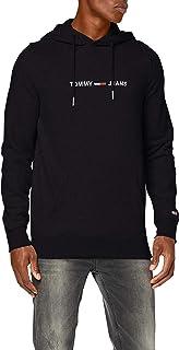 Tommy Jeans Men's TJM STRAIGHT LOGO HOODIE Sweater