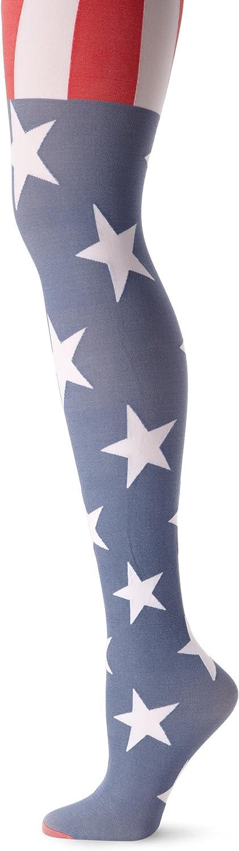 Pretty Polly Women's Usa Flag Tight