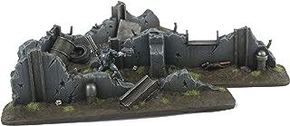 WWG War Torn City - Urban Defensive Barricades28mm Scale– Warhammer Scenery 40K Necromunda Terrain