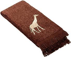 Avanti Animal Parade Fingertip Towel, Mocha