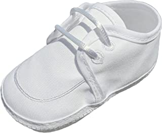 Little Things Mean A Lot Boys Gabardine Christening Shoe