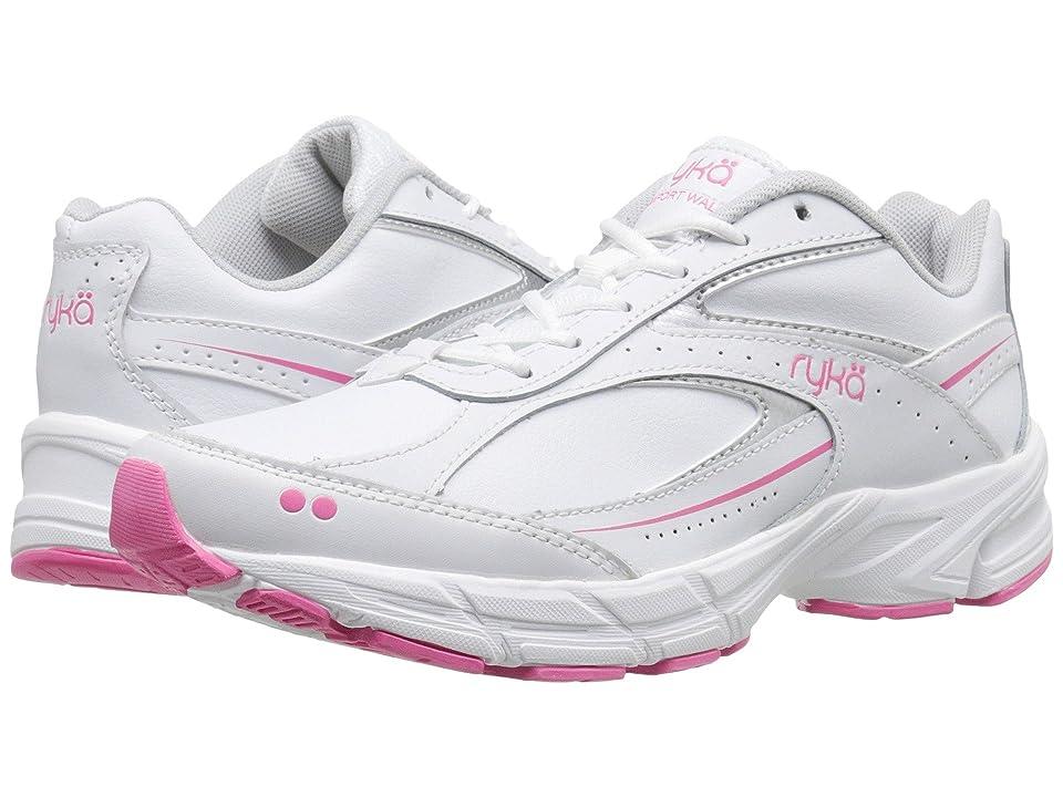 Ryka Comfort Walk (White) Women