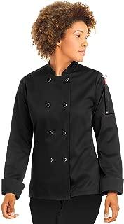 Women's Classic Long Sleeve Chef Coat (XS-5X, 2 Colors)