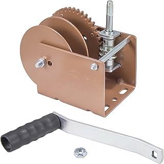 Goldenrod Dutton-Lainson Company (WG2000SR) Worm Gear Winch with Split Reel - 2000 lb. Load Capacity