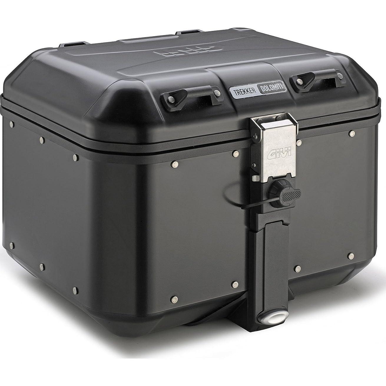 GIVI DLM46B 46 Liter Dolomiti Monokey Aluminum Top Case - Black