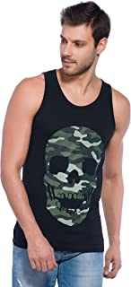 Alan Jones Men's Printed Cotton Vest