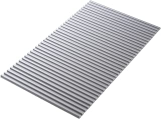 東プレ 風呂ふた シャッター式 イージーウェーブ 75×150cm メタリックグレー 抗菌タイプ L15