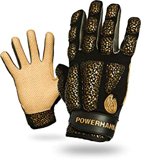 POWERHANDZ Weighted Golf Gloves for Strength and Resistance Training - Non Slip, Pure Grip Golf Practice Gloves