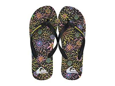 Quiksilver Molokai Print (Black/Black/Yellow 2) Men