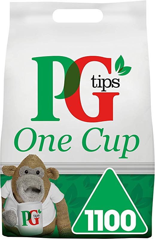 PG Tips One Cup Pyramid Tea Bags Pack Of 1 Total 1100 Tea Bags