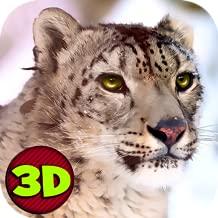 Wild Snow Leopard Survival Simulator 3D