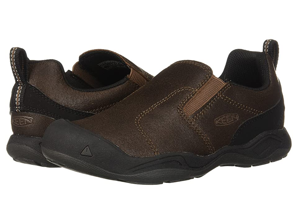 Keen Kids Jasper Slip-On (Little Kid/Big Kid) (Dark Earth/Mulch) Boys Shoes