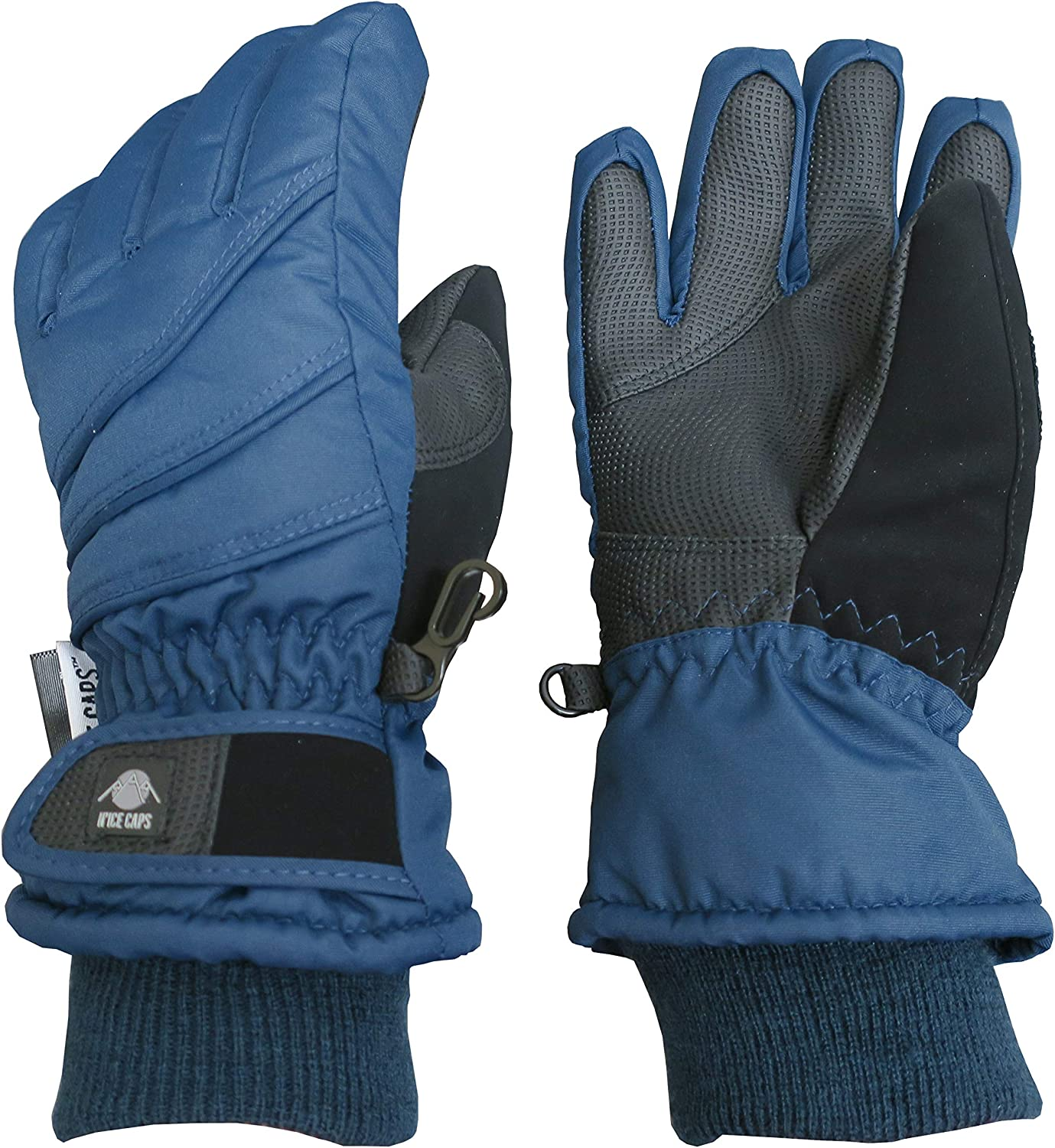 N'Ice Caps Kids Thinsulate Waterproof Bulky Winter Snow Ski Glove With Ridges : Sports & Outdoors