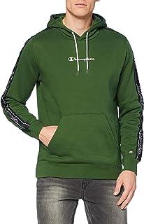 Champion Men's Seasonal Tape Hooded Sweatshirt Homme