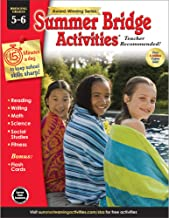 Summer Bridge Activities | Bridging Grades 5-6 | Summer Learning Workbook | 160pgs