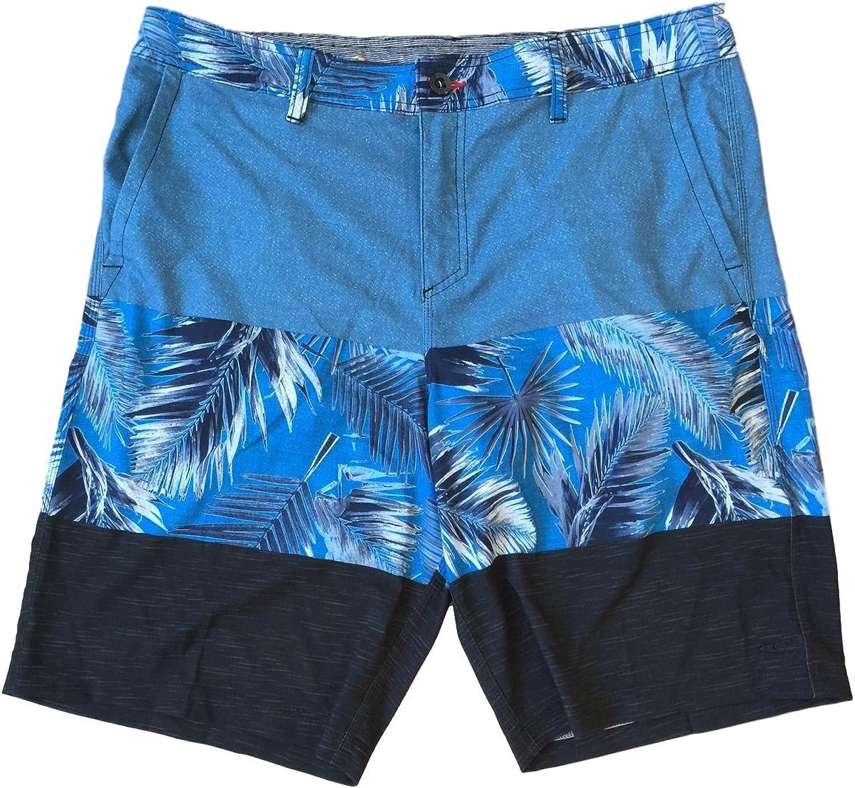 O'NEILL Men's Riley Hybrid Board Shorts (Blue Hawaiian)