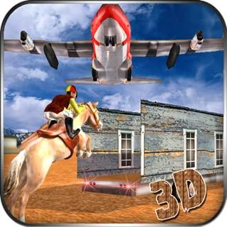 Airplane Pilot Horse Transportation Simulator 3D: Wild Animal Transport Flight Cargo Simulator Adventure Mission Free For Kids 2018