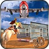 Simulador de transporte de avião piloto cavalo 3d: simulador de transporte de avião de transporte animal selvagem missão de aventura livre para crianças 2018