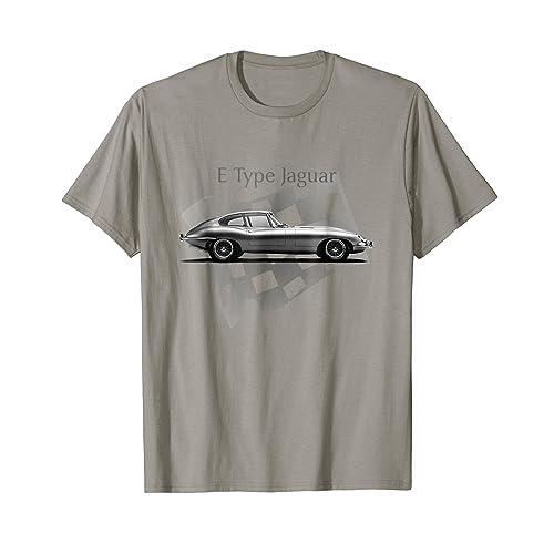 E-Type Jaguar t shirt - Amazing Classic Car Design