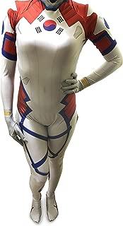 AestheticCosplay Dva Cosplay Costume | Superhero Halloween Suit | Lycra Fabric Bodysuit | for Men and Women
