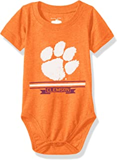 Cotton Willy NCAA Boys Short Sleeve Onesie