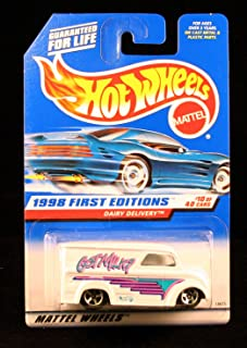 Hot Wheels Dairy DELIVERY First Editions Series #10 of 40 1998 Basic Car Series Collector #645