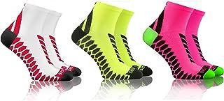 Sesto Senso, Calcetines Deporte Colores Cortos Algodón Hombre Mujer 3-12 Pares