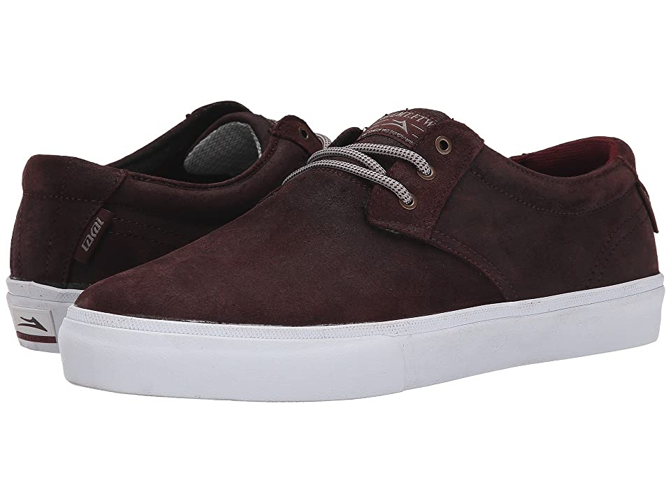Lakai MJ Weather Treated (Mahogany Oiled Suede) Men
