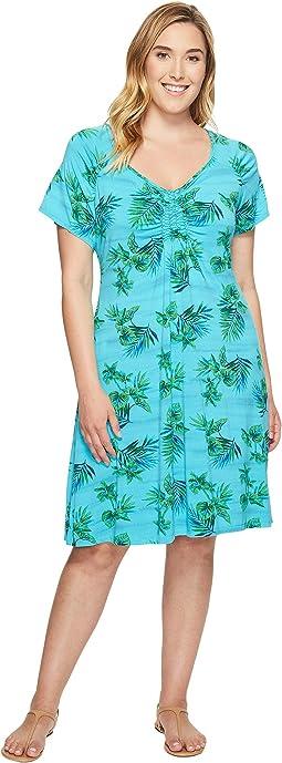 Extra Fresh by Fresh Produce - Plus Size Off Shore Emma Dress