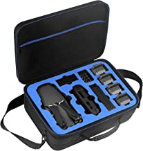 D DACCKIT Travel Carrying Case Compatible with DJI Mavic Pro/Mavic Pro Platinum Fly More Combo - Fit Quadcopter Drone, 5X Batteries, Remote Controller, Charging Hub, Propellers and Other Accessories