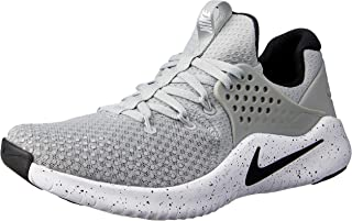 Nike Australia Men's Free TR V8 Training Shoes, Matte Silver/Black-White