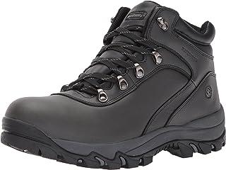 حذاء مشي رجالي برقبة طويلة من الجلد المقاوم للماء يحمل عبارة «Apex Mid Hiker من Northside