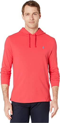 Classic Fit Mesh Hooded Shirt