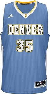 NBA Mens Denver Nuggets Kenneth Faried Replica Player Alternate Flex Jersey Small Yellow