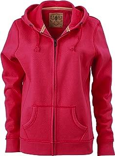 Sudadera con Capucha James /& Nicholson Sweatjacke Ladies Hooded Jacket