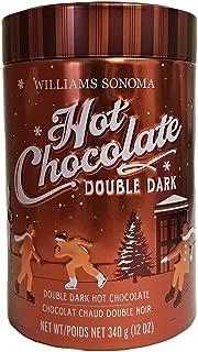 Black Friday: Williams Sonoma Premium Guittard Double Dark Hot Chocolate - 12 oz. Tin