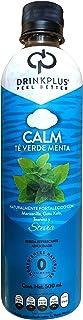 DrinkPlus Bebida Funcional DrinkPlus Calm (Paquete de 12), Té Verde Menta, 500 mililitros