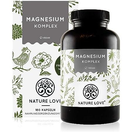 ALINESS Chelated Magnesium 560mg Vitamin B6 100 Kapseln VERSAND WELTWEIT