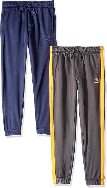 2 Pack RBX Boys Sweatpants Active Tricot Joggers Warm-Up Track Pants