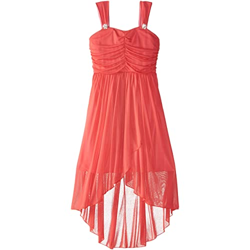 d2f1a8b36 Emerald Sundae Big Girls' Tulip Front Matte Jersey Dress